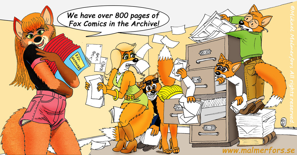 Pic 133 - More than 800 comic pages in the Archive!